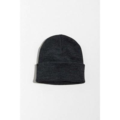 アーバンアウトフィッターズ Urban Outfitters メンズ ニット ワッチキャップ ビーニー 帽子 uo watchcap acrylic beanie Dark Grey