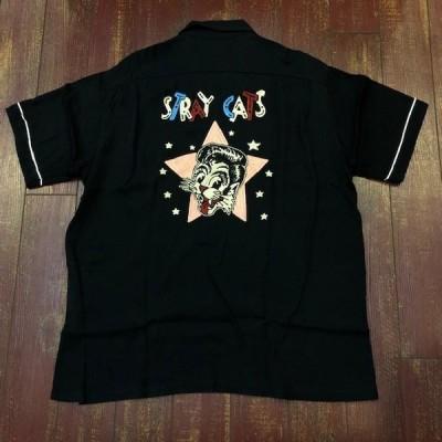 ストレイキャッツ × スタイルアイズ ボーリングシャツ SE38204 [SE38204]