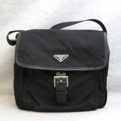 プラダ ショルダーバッグ ネロ ブラック 黒 メッセンジャー 斜め掛け 三角ロゴ ABランク メンズ レディース ナイロン BT0173 PRADA