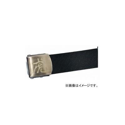 モトコマ 最高級ワンタッチベルト ゴールドバックルタイプ 虎 ブラック KSH-12A JAN:4900028811977