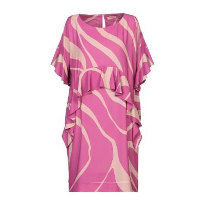 MAESTA ミニワンピース&ドレス ベージュ 40 PES - ポリエーテルサルフォン 100% ミニワンピース&ドレス