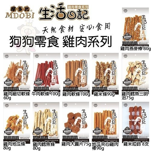 *KING WANG*MDOBI摩多比 生活日記狗零食.低熱量、低鹽、少負擔 多種口味可選.狗零食