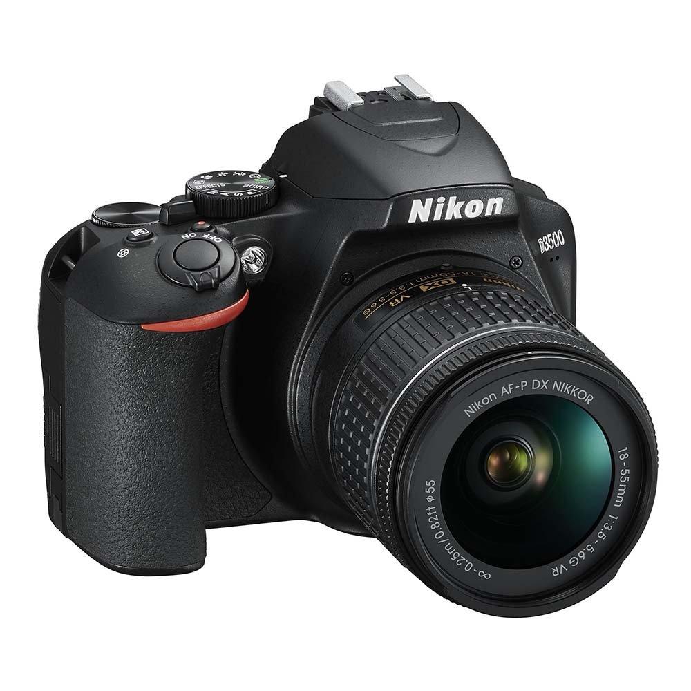 128G全配組★NIKON D3500 + AF-P DX 18–55MM VR 單鏡組 (公司貨)