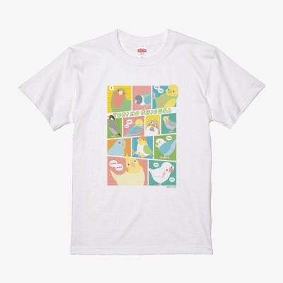 【BIRDSTORY】TORINOSHIGUSA Tシャツ カラー Mサイズ