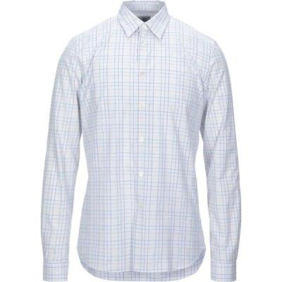 ポールスミス PS PAUL SMITH メンズ シャツ トップス checked shirt White