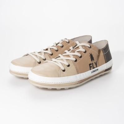 ヨーロッパコンフォートシューズ EU Comfort Shoes FLYLONDON スニーカー (ベージュ)