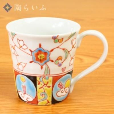 九谷焼 マグカップ 華月夜/銀舟窯<和食器 マグカップ 人気 ギフト 贈り物 結婚祝い/内祝い/お祝い>