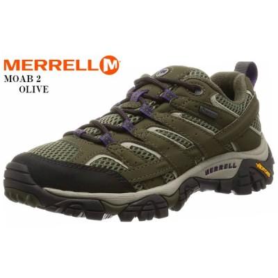 MERRELL (メレル)MOAB 2 GORE-TEX モアブ2 ゴアテックス トレッキングカジュアルブーツ レディス トレッキングからタウンユースまで幅広いシーンで活躍
