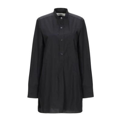 マルニ MARNI シャツ ブラック 36 コットン 100% シャツ