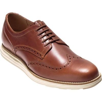 コールハーン Cole Haan メンズ 革靴・ビジネスシューズ シューズ・靴 original grand shortwing leather oxfords ブラウン