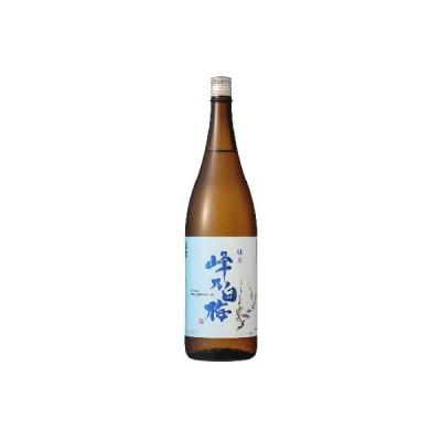 日本酒 新潟 峰乃白梅 純米酒 1800ml 正規取扱店