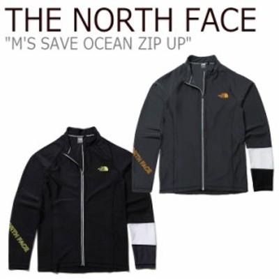 ノースフェイス 水着 THE NORTH FACE メンズ M'S SAVE OCEAN ZIP UP セーブオーシャン ジップアップ DARK GRAY BLACK NJ5JL02A/B ウェア