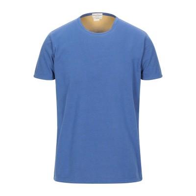 CASHMERE COMPANY T シャツ ブルー 50 コットン 100% T シャツ