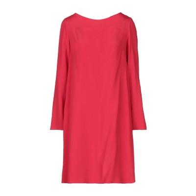 1-ONE ミニワンピース&ドレス レッド 44 アセテート 85% / シルク 15% ミニワンピース&ドレス