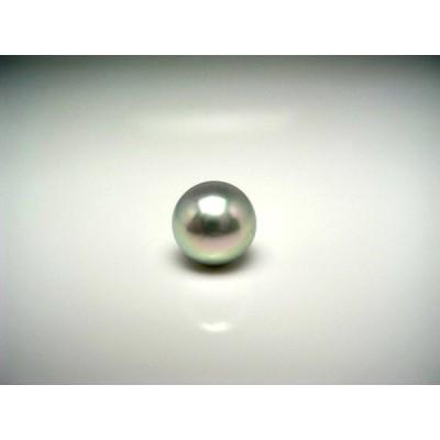真珠 ネクタイピン パール アコヤ真珠 8.67mm K14 ホワイトゴールド 針 51727