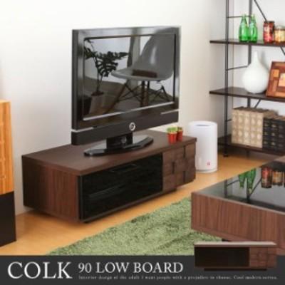 [クーポンで15%OFF!5/9限定]【g14110】テレビ台 90 テレビボード TV台 TVボード テレビラック 木製 天然木 収納 棚 DVD収納 ローボード