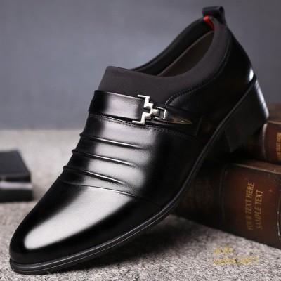 新作 ビジネスシューズ 走れる メンズ 靴 オックスフォードシューズ 軽量 歩きやすい シューズ 紳士靴 ストレートチップ