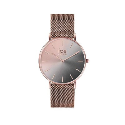 Ice-Watch Women's City Sunset Milanese 016026 Rose-Gold Stainless-Steel Quartz Fashion Watch【並行輸入品】