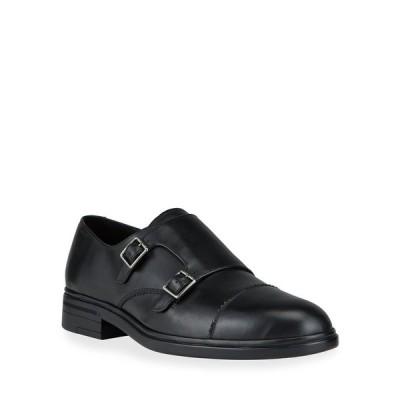 バリー メンズ スリッポン・ローファー シューズ Men's Neo Double-Monk Leather Loafers