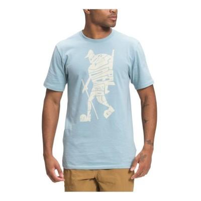 ノースフェイス メンズ Tシャツ トップス Mens Hiker Evolution Short Sleeve Tee