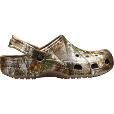 クロックス Crocs レディース クロッグ シューズ・靴 Adult Classic Realtree Edge Clogs Walnut