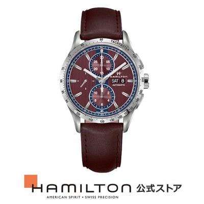 ハミルトン 公式 腕時計 HAMILTON  ブロードウェイ  自動巻き 43.00MM レザーベルト H43516871 男性 正規品