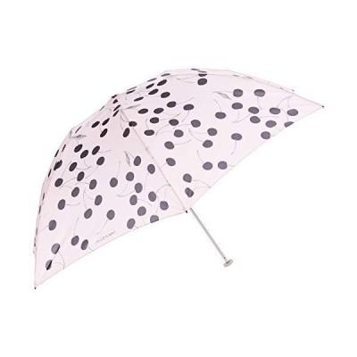 [ジルスチュアート] 折りたたみ傘 1JI 17725 レディース グレイッシュピンク FREE