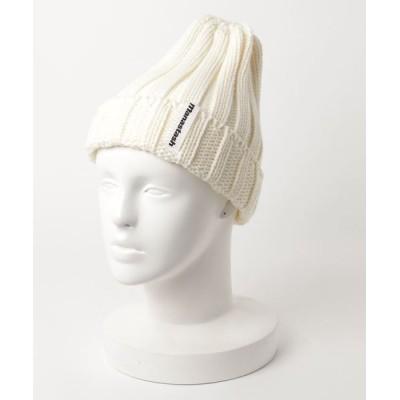 帽子 キャップ MANASTASH/マナスタッシュ 90's LOGO BEANIE/ニットキャップ