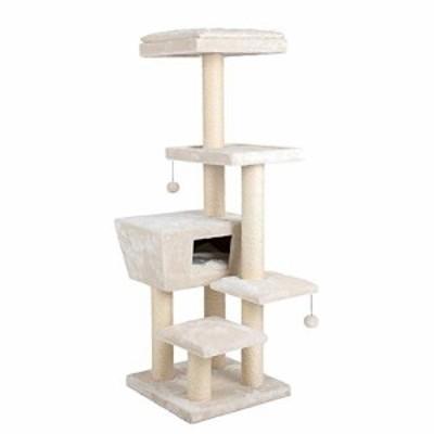 キャットタワー 多機能 豪華な猫タワー おしゃれ 多頭飼い 人気 大型猫 つ (新古未使用品)