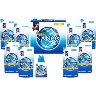 ライオン トップスパーナノックスギフト(LSN-40V)日用品 洗剤 晴れ干し 部屋干し 洗濯用 ギフトセット 贈答品 お中元 お歳暮 快気祝い