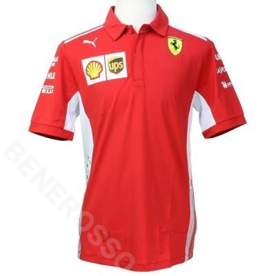 フェラーリ 2018 クルー 支給品 ポロシャツ (返品・交換対象外)
