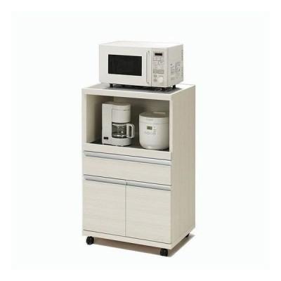 本州・四国は開梱設置無料 フナモコ ハイタイプキッチンカウンター 幅60.2×高さ98.3cm ホワイトウッド MRS-60 日本製 代引不可