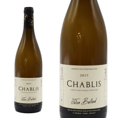 シャブリ 2017年 セラー蔵出し ドメーヌ ジュリアン バイヤール家  750ml  フランス ブルゴーニュ 白ワイン