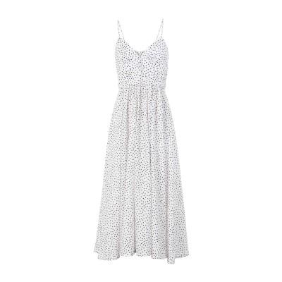 BEC & BRIDGE 7分丈ワンピース・ドレス ホワイト 8 コットン 100% 7分丈ワンピース・ドレス