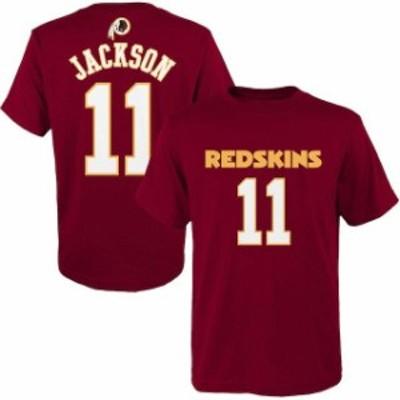 Outerstuff アウタースタッフ スポーツ用品  DeSean Jackson Washington Redskins Youth Burgundy Mainliner Name & Numbe