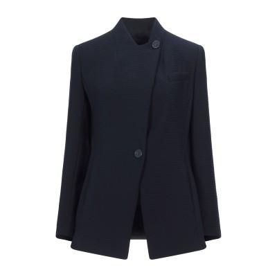 エンポリオ アルマーニ EMPORIO ARMANI テーラードジャケット ダークブルー 40 ポリエステル 100% テーラードジャケット