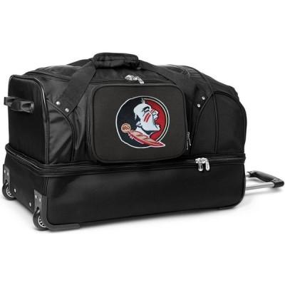 "NCAA ユニセックス スーツケース・キャリーバッグ バッグ Mojo 27"" Rolling Drop Bottom Duffel Bag Florida State Seminoles"