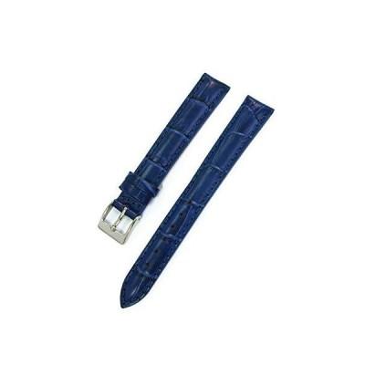 CASSIS[カシス] カーフ クロコダイル型押し 時計ベルト DONNA Croco Calf ドナ 13mm ダークブルー 交換用工具付き D00