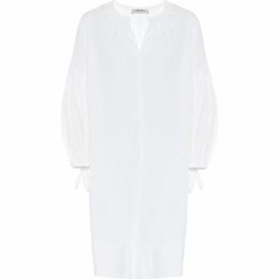 マックスマーラ S Max Mara レディース ワンピース ミドル丈 ワンピース・ドレス Pau cotton-blend midi dress