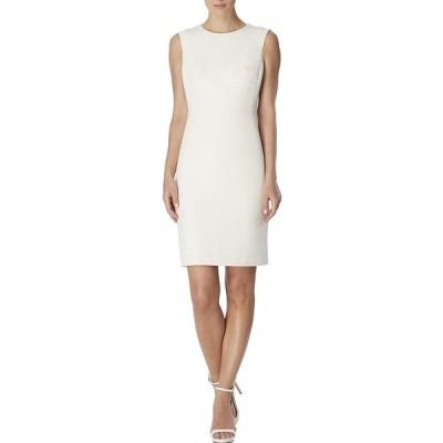 アンクライン レディース ワンピース トップス Sleeveless Sheath Dress Anne White