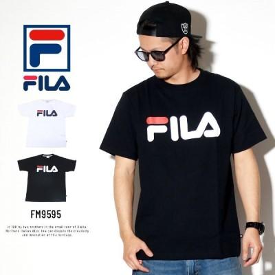 フィラ ヘリテージ FILA HERITAGE Tシャツ メンズ ベーシックロゴ FM9595 カップル ペアルック お揃い おしゃれ
