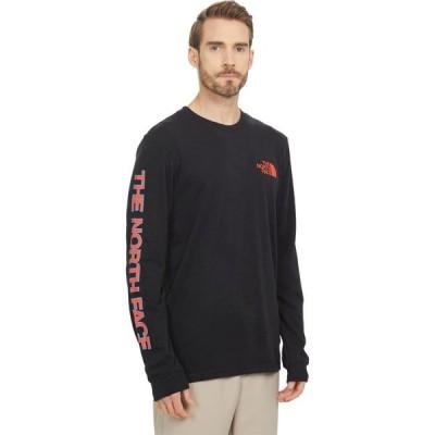 ザ ノースフェイス The North Face メンズ 長袖Tシャツ トップス Long Sleeve TNF(TM) Sleeve Hit T-Shirt TNF Black