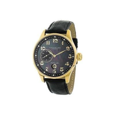 ストゥーリングオリジナル腕時計Stuhrling Original メンズ 148A.33351 Heritage Grand Date ブラック