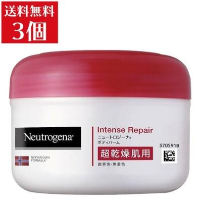 Neutrogena(ニュートロジーナ) ノルウェーフォーミュラ インテンスリペア ボディバーム 超乾燥肌用 微香性 単品 200mlx3 送料無料