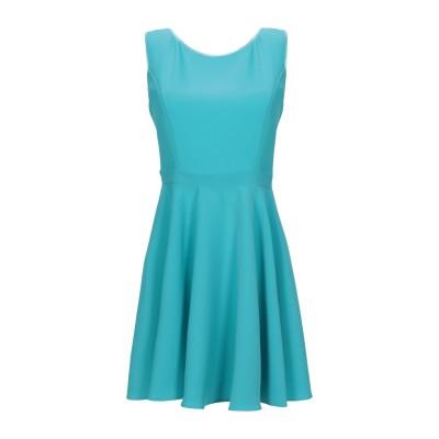 FRANCESCA & VERONICA FELEPPA ミニワンピース&ドレス ターコイズブルー 44 ポリエステル 100% / ナイロン /