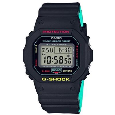 [カシオ] 腕時計 ジーショック ブリージ-ラスタカラー DW-5600CMB-1JF メンズ ブラック