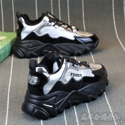 ダッドスニーカー 厚底 レディース スニーカー ローカット ウォーキングシューズ レースアップ 靴 カジュアル 美脚 歩きやすい 疲れにくい 軽量 スポーツ