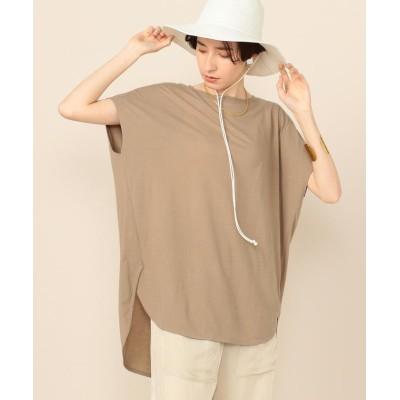 【ノーリーズ】 カイトTシャツ レディース ベージュ F NOLLEY'S