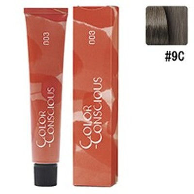 ナンバースリー NUMBER THREE カラーコンシャス ファッションライン #9C (クールブラウン) 80g ヘアケア COLOR CONSIOUS