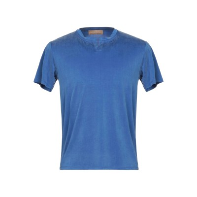 ダニエル フィエゾーリ DANIELE FIESOLI T シャツ ブルー M キュプラ 92% / ポリウレタン 8% T シャツ